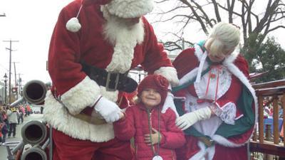 Santa Claus is coming to Louisa this weekend