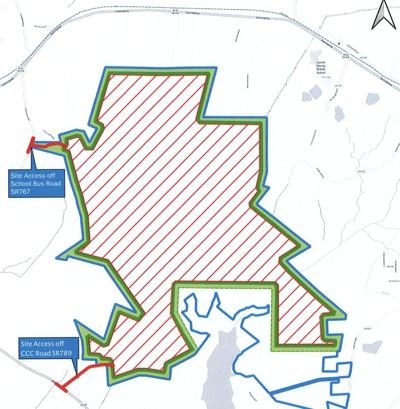 Large solar farm proposed near the reservoir