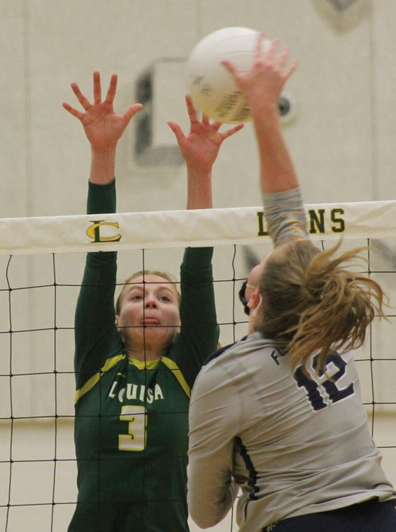 Louisa volleyball goes the distance with Spotsylvania