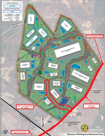 Two big grants for Shannon Hill Business Park