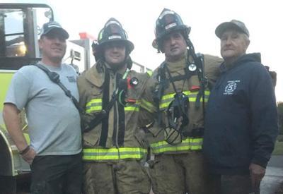 Longtime Louisa firefighter battles terminal cancer
