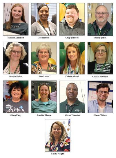 Louisa County school division honors top-notch employees