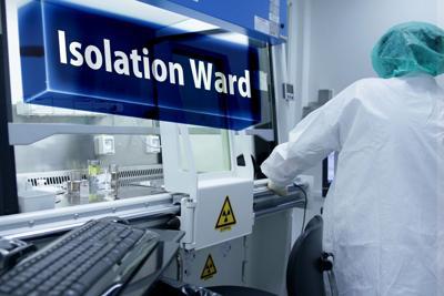 Isolation ward (stock image)