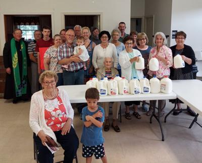 Church to church milk challenge now underway