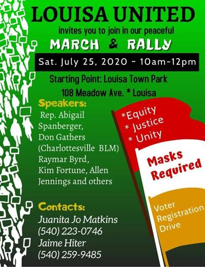 March and rally for unity planned