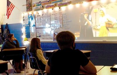 Students enjoy in-class theater