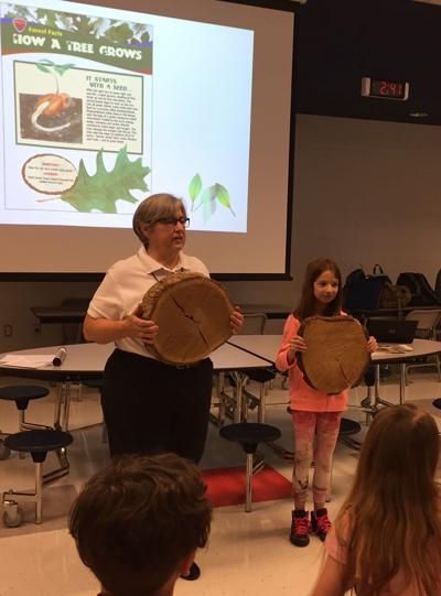 Dominion connects Louisa students with trees
