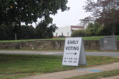 Early voting now in two locations
