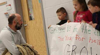 Louisa County school, county leaders head into classroom