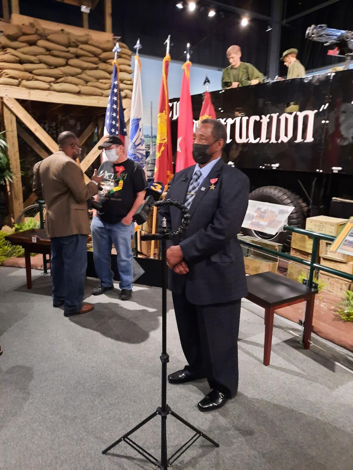 Vietnam veteran honored with Bronze Star Medal for valor