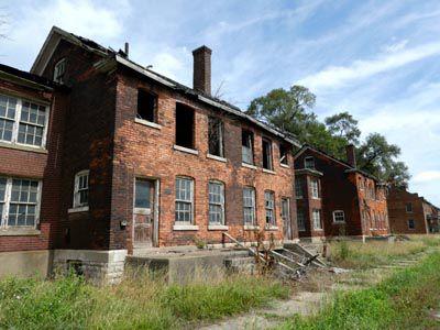 A Civil War fort in Michigan