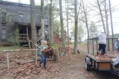 Cleanup at Netherland Tavern