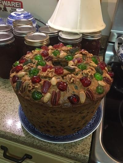 Fruitcake baker carries on a family tradition
