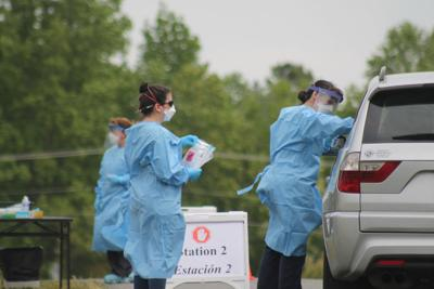 Thirty tested for virus at Louisa site