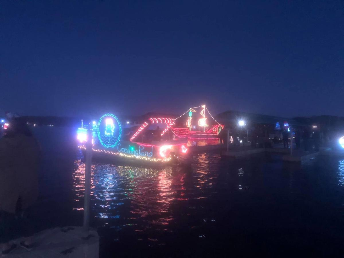 First lake parade lights up the night