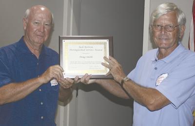 Lake Anna Civic president retires