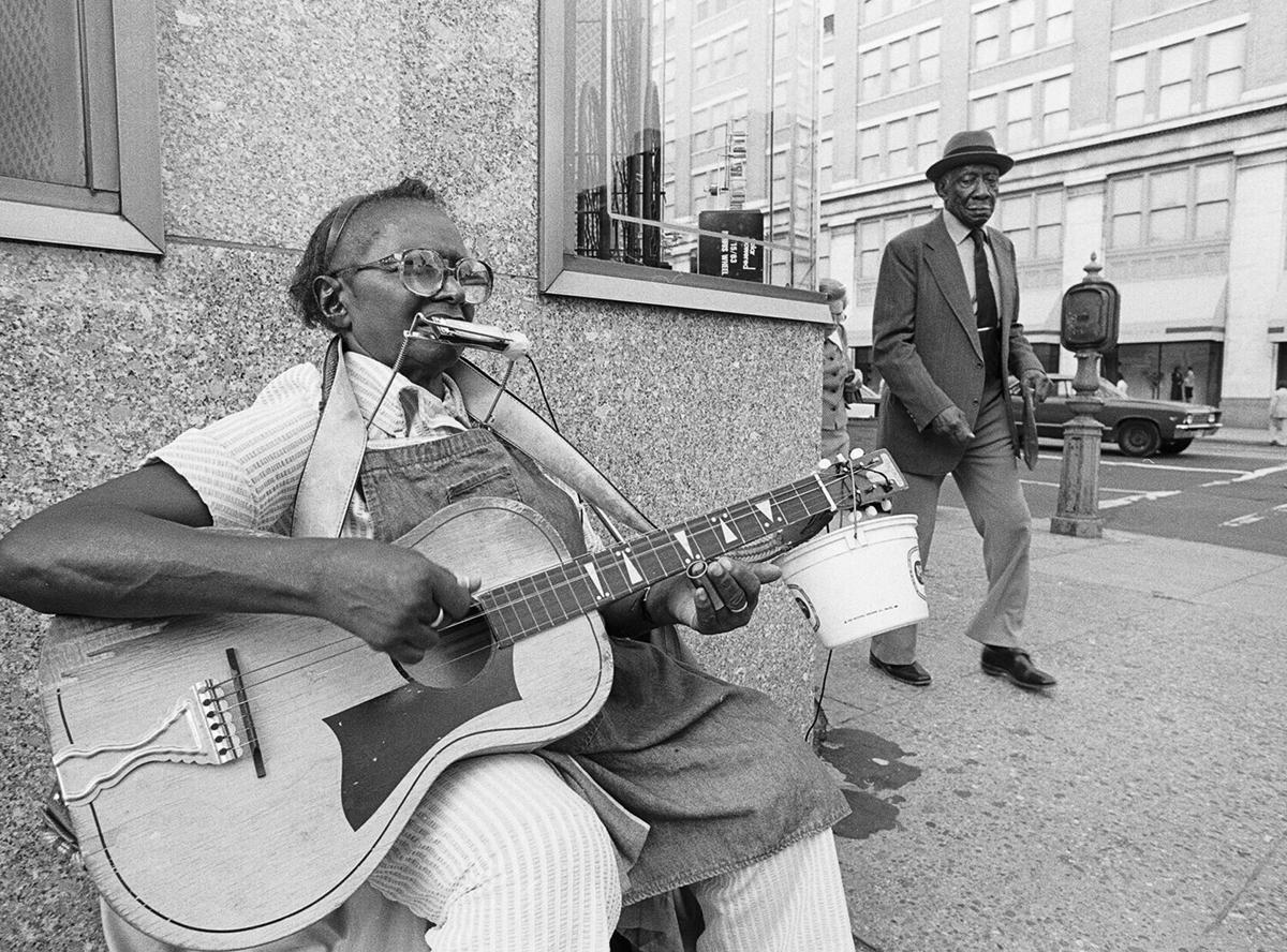 Street musician made mark