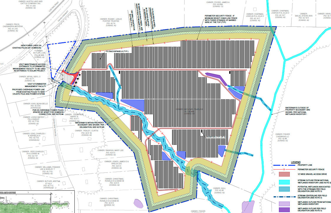 Another solar project proposed