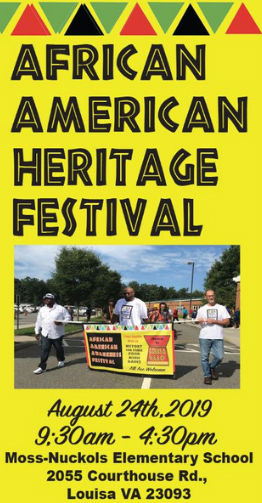 African American Heritage Festival this Saturday