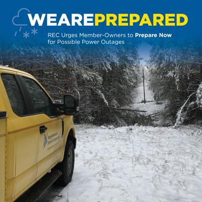 Rappahannock Electric advises customers to prepare for winter storm