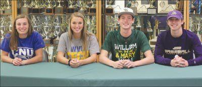 Louisa athletes signing up for the future
