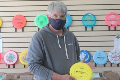 Disc golf comes to the area