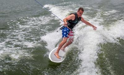 Third no-wakesurf zone at lake advances