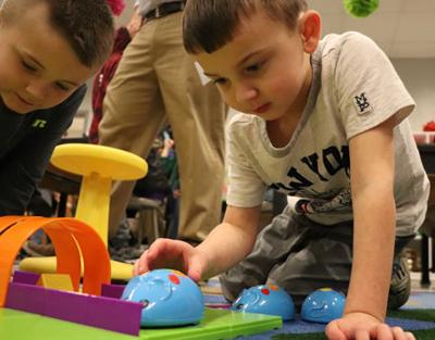 Learning through play at Thomas Jefferson Elementary School