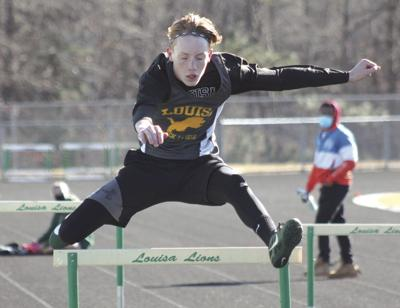 Louisa races to the top in first track meet