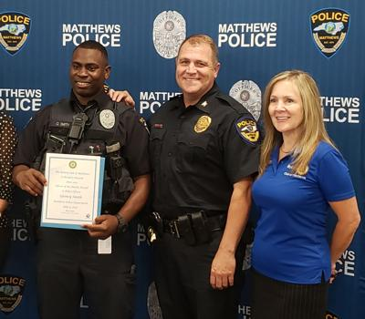 Quincy Smith Officer of the Month