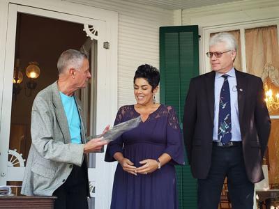 Natisha Rivera-Patrick wins Nancy Glenn Community Servant Award