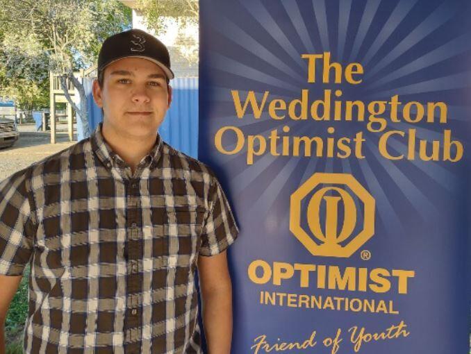 Bryson Farmer wins Weddington Optimist Club scholarship