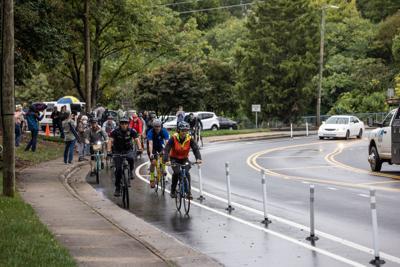 Bike lanes added along Optimist Park