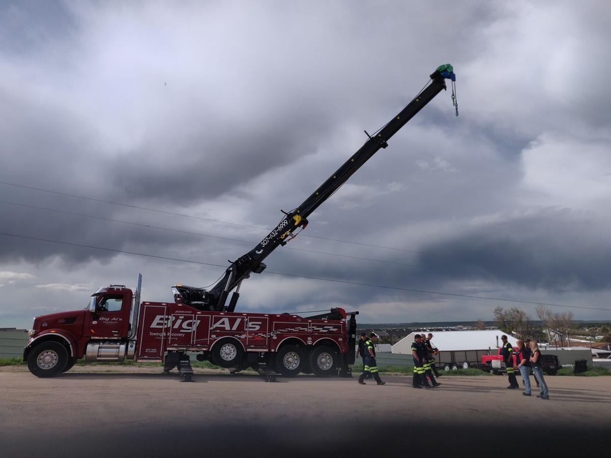 Rotator Boom Truck photo