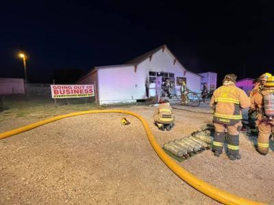 Fire photo - 3415 Ridge Road - The Supply Sergeant