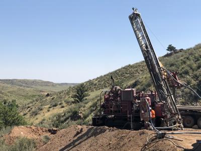 U.S. Gold gold mining equipment photo