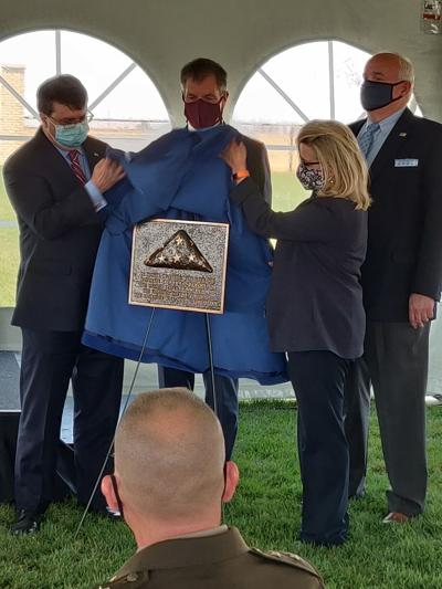 Cheyenne National Cemetery Plaque unveiling