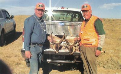 Freudenthal and Enzi at Antelope Hunt