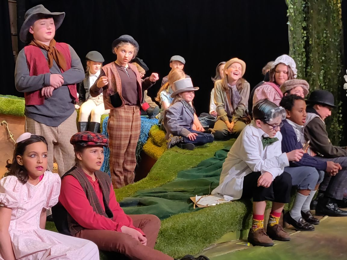 Wind in the Willows Dress Rehearsal