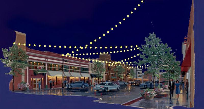 17th Street Lights Artist rendering