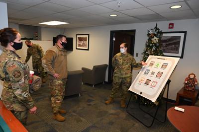 AFGSC command chief visits F.E. Warren