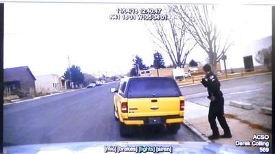Laramie police shooting - Derek Colling