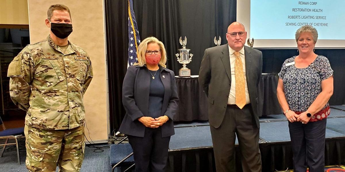 Liz Cheney at Chamber event