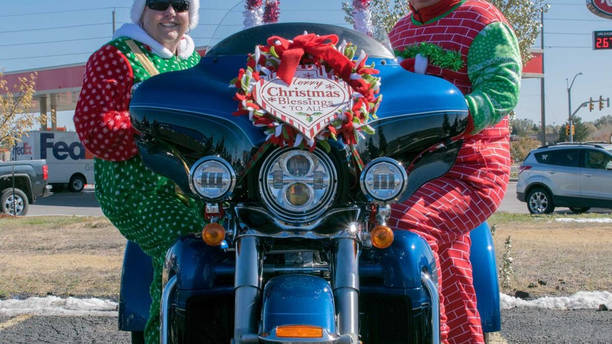 Bikers ride to collect Toys for Tots