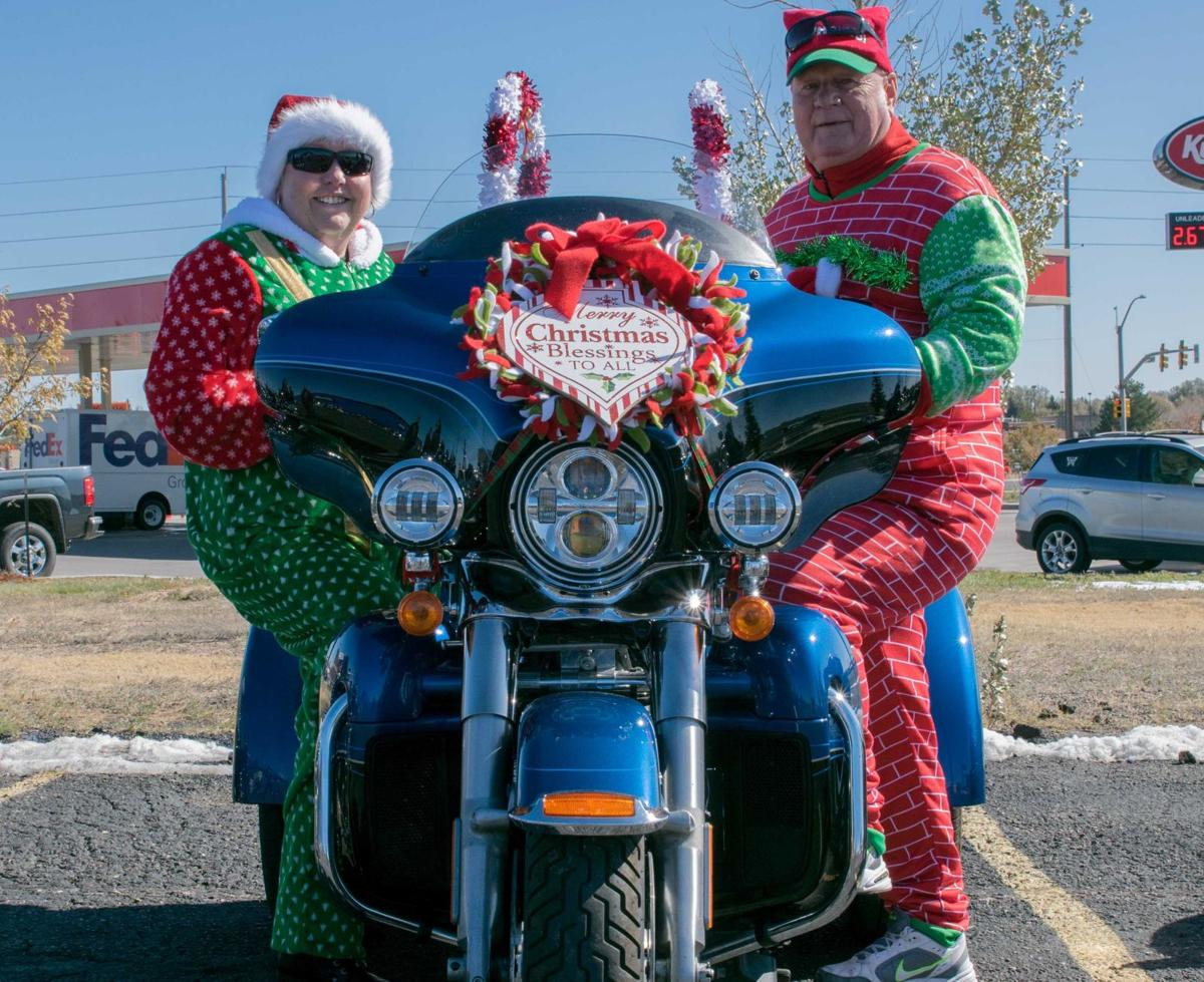 Cheyenne Toys for Tots ride