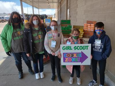 Girl Scout Cookie Sale at Sam's Club - 2021 photo