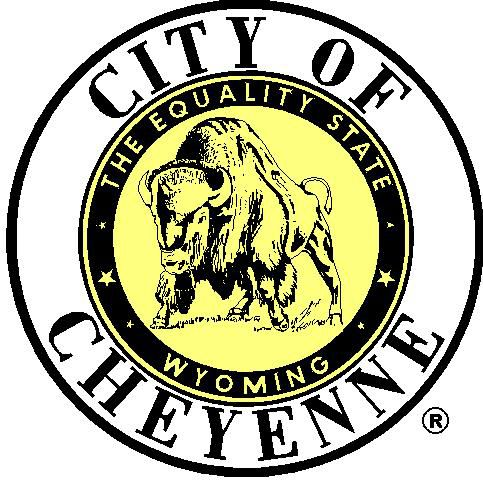 City of Cheyenne Seal Yellow Center