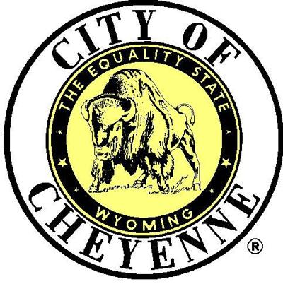 City of Cheyenne Seal Yellow Center
