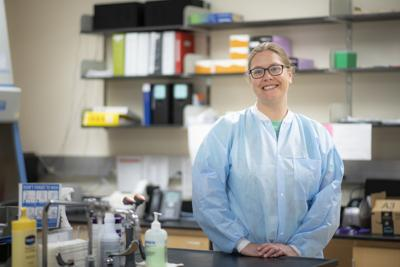 Elizabeth White, Lab Scientist for the Wyoming Public Health Laboratory