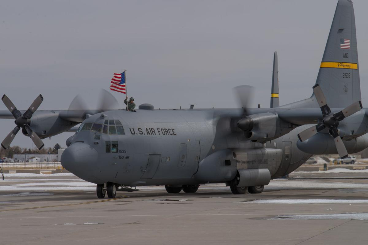 153rd Airlift Wing C-130H